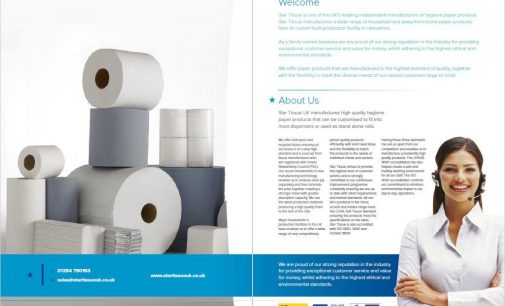 Star Tissue UK Launches New Product Brochure and Website