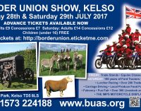 Bruce Stevenson Insurance Brokers Offer Free Tickets to Border Union Show