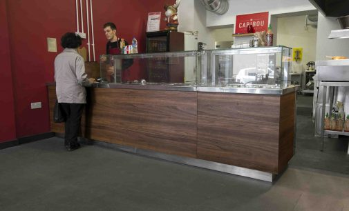 Glasgow Company Supplies Servery Counter at Canadian-themed Outlet
