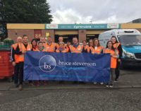 Bruce Stevenson Insurance Brokers Hungry to Help FareShare