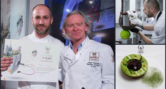 Royal Yacht Britannia Chef Placed Third in UK Chocolate Masters