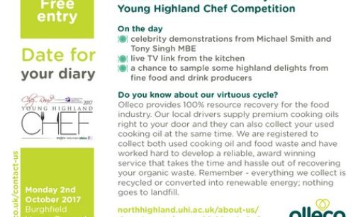 The Olleco Young Highland Chef Competition Gets Underway at Dornoch