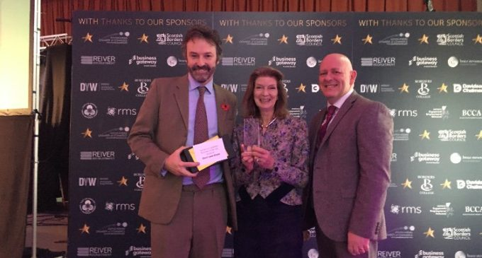 Bruce Stevenson Insurance Brokers Celebrate Duns Castle Awards Win