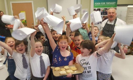 Brakes Scotland Commits to Schools' Food For Thought Programme