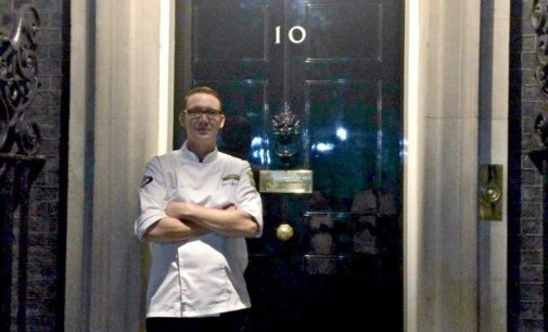 Braehead Foods Chef James Attends Downing Street Burns Supper