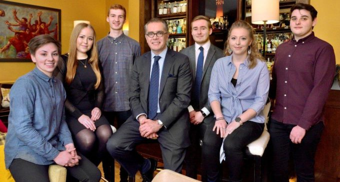 Edinburgh's Queen Margaret University Students Receive Support From Lord Forte Foundation