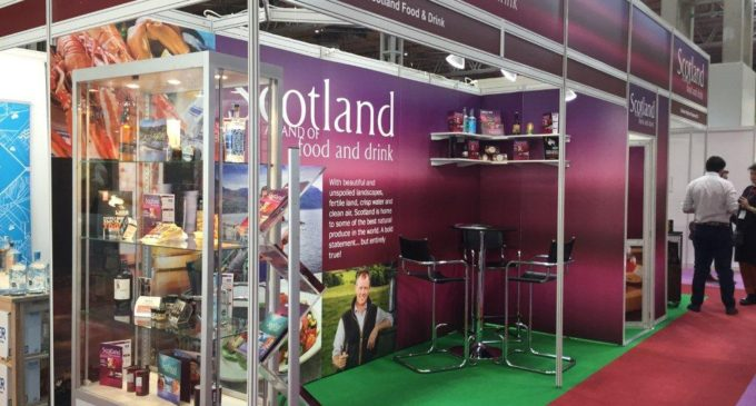 Scotland Food & Drink Accompany Local Producers to Food & Drink Expo