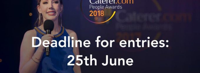 Just One Week To Go to Enter the Caterer.com People Awards 2018!