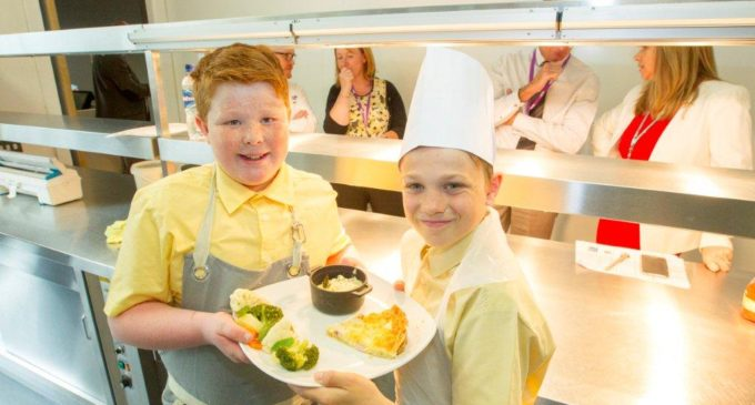 Masterchef Winner Judges Scottish Primary Schools Food Challenge