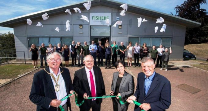 CIS Awards Sponsor Fishers Laundry Group Opens New Cupar HQ