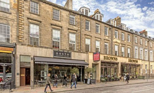 Is Edinburgh's Restaurant Rental Bubble Set to Burst?