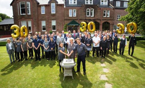 CIS Excellence Award-Winning Auchrannie Resort Celebrates 30th Birthday