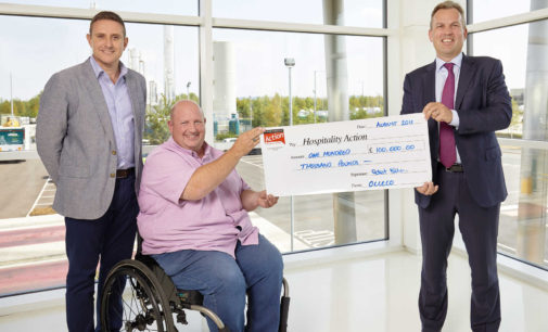 CIS Excellence Sponsor Raises £100k for Hospitality Action