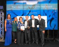 CIS Excellence Award-Winning Windlestraw Hotel Collects VisitScotland Quality Assurance Award