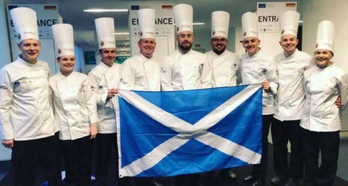 Scotland's Culinary Team Takes Silver at Expogast 2018