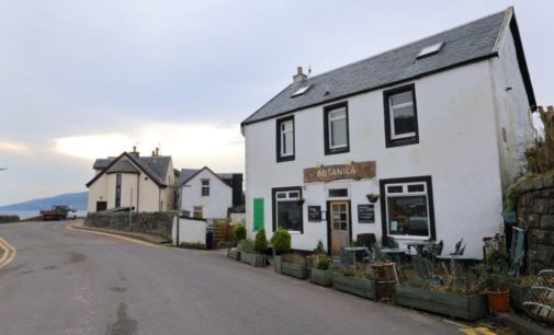 Graham & Sibbald Markets Burnside Bistro, Tighnabruaich