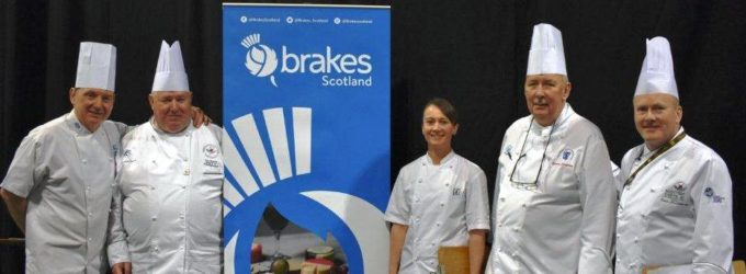 Orry Shand Crowned Scottish Chef of the Year, sponsored by Brakes Scotland