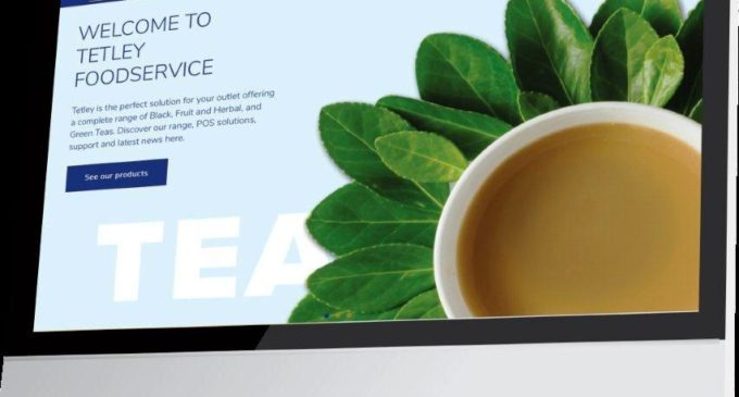 Tetley Launches New Foodservice-Friendly Website