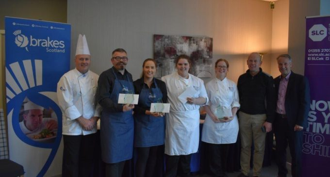 Fife College Bag First Place at Brakes Scotland Student Hospitality Challenge