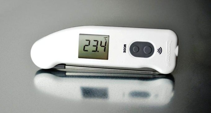 ETI's Thermapen IR Infrared Thermometer Temperature Makes Measurements Easy