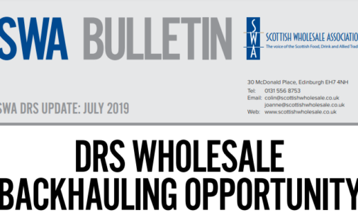 Scottish Wholesale Association Publishes July Bulletin