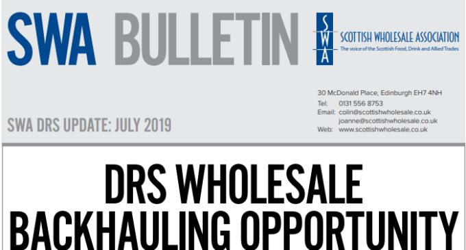 Scottish Wholesale Association Publishes July Bulletin