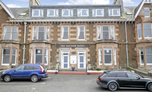 Graham & Sibbald Markets Four-Star 10-bedroom Victorian Rothesay Guesthouse