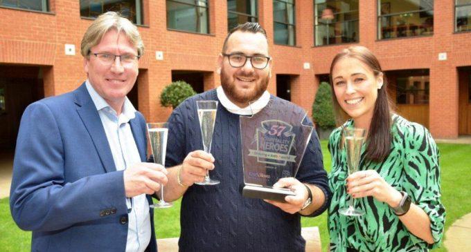 Leo Kattou Wins 57 Hospitality Heroes Foodservice Competition