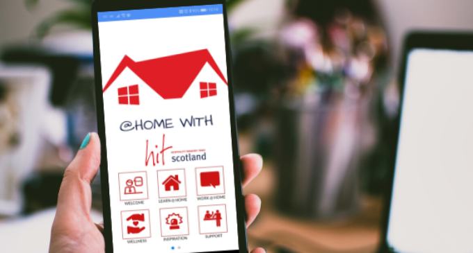 HIT Scotland Launch Lock-down Learning App