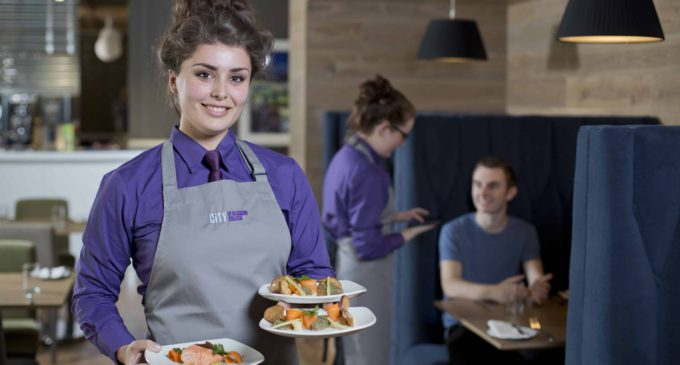City of Glasgow College Student Restaurant Recognised by AA