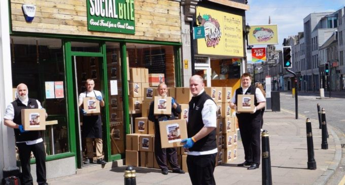 ESS Delivers 500 Hamper Boxes To Support Social Bite