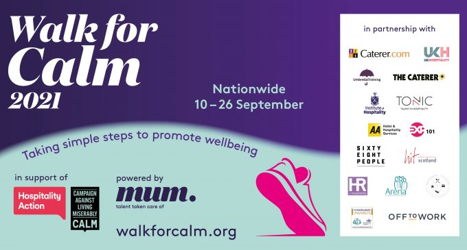 Walk for Calm 2021; Taking Simple Steps to Promote Wellbeing