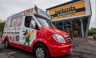 Ice Cream Alliance Teams Up With Halfords To Support Staycation Campaign