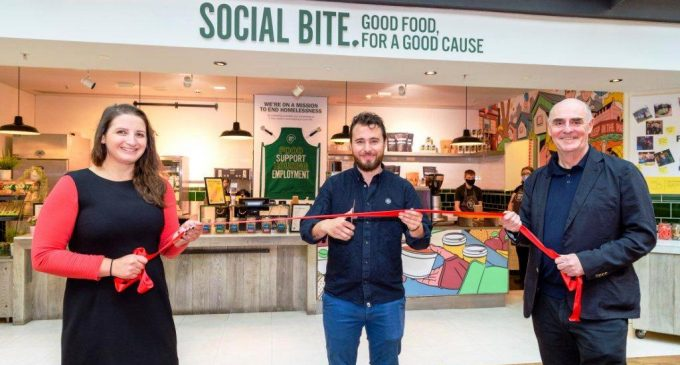 BaxterStorey and Social Bite Launch Cafe in RBS HQ