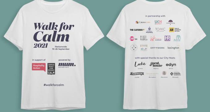 Less Than One Week To Go For Walk For Calm